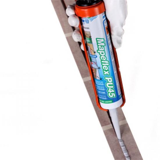Adhesive for use with anti slip surfaces, stair corners, anti slip sheeting - Mapei Mapeflex PU45 Coba
