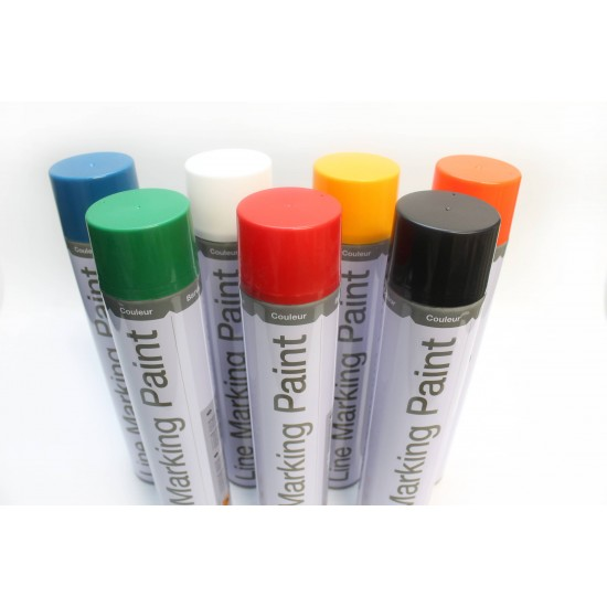 Temporary Line Marking Paint - Pack of 6 - Cobaline