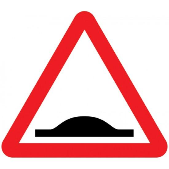 Sign - Speed Bump Class 1 Reflective Traffic Sign 600mm