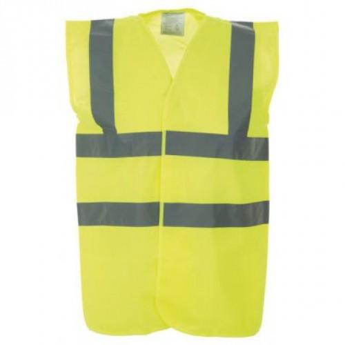 High Visibility Waistcoat - Hi Vis Yellow