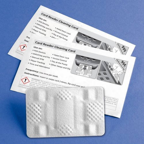 Cleaning Card - Card Reader Box of 40
