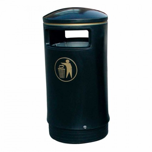 Outdoor Hooded Top Litter Bin