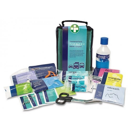 First Aid Kit Travel BS Compliant