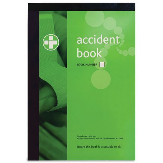 Accident Reporting Book A4