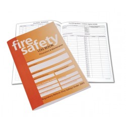 Fire Safety Log Book A5