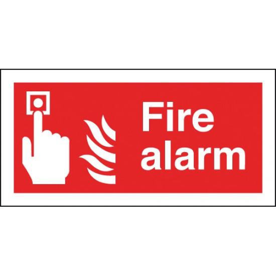 Fire Alarm sign - Rigid