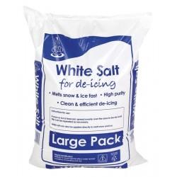Salt - White De-Icing - 25kg
