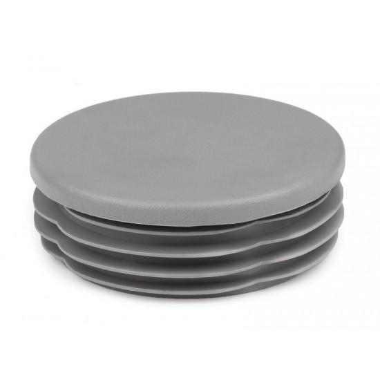 Post Accessories - Plastic End Cap - Grey