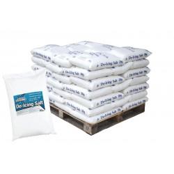 Salt - White De-Icing - Pallet of 42 x 25kg Bags