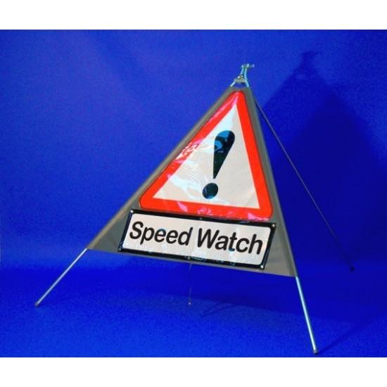 Speedwatch Sign - Triangular