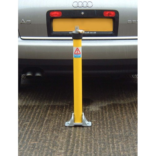 Autopa TOPLOK Parking Post Coated Yellow