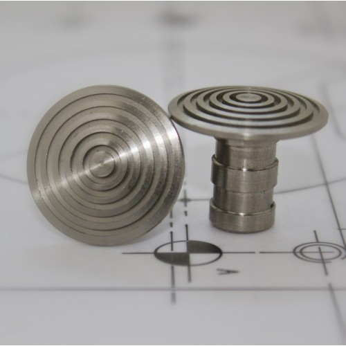 Demarcation Stud - stainless steel - 25mm