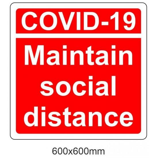 Covid19 Maintain Social Distance