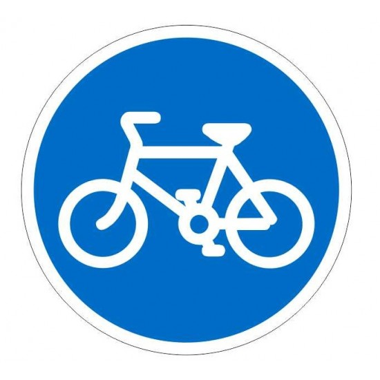 Covid19 Cycles Only Sign Only 600mm
