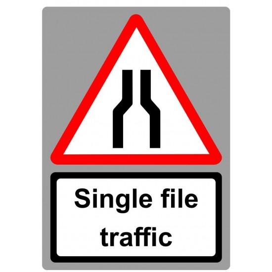 Covid19 Single File Traffic