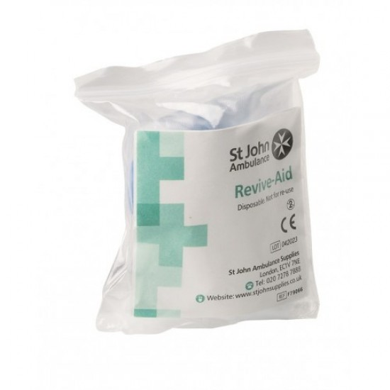 Revive-Aid Resuscitation Mouth to Mouth Shield