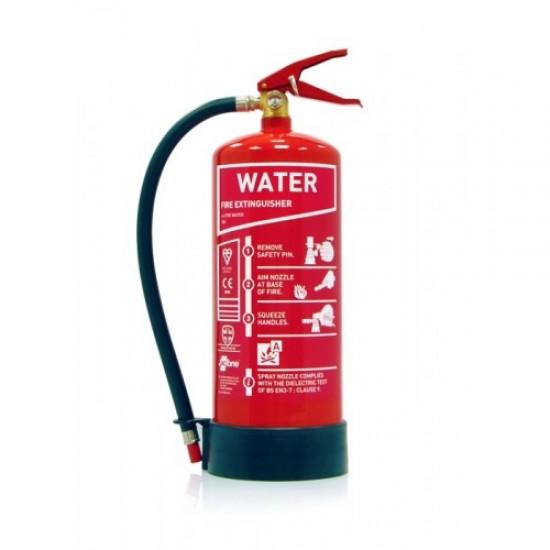 Fire Extinguisher Pack - Premium Range Stored Pressure Water Extinguisher and Sign