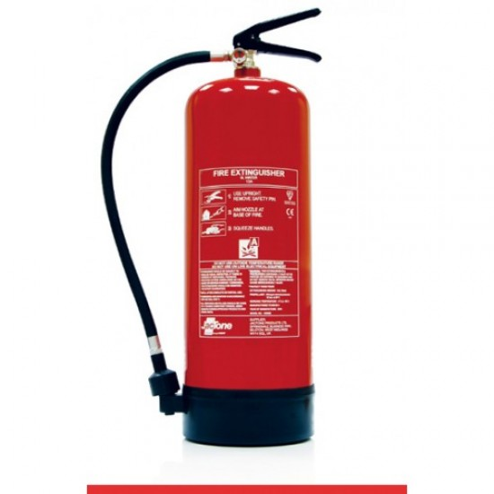 Fire Extinguisher Pack - Stored Pressure Water Extinguisher and Sign