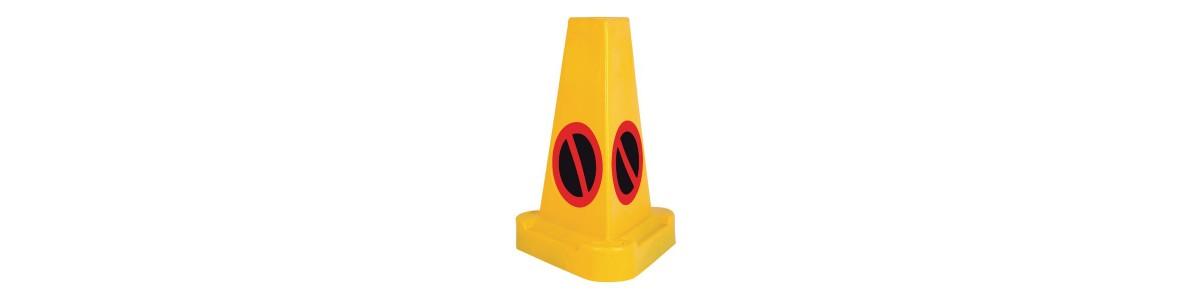 Cones, barriers, bollards