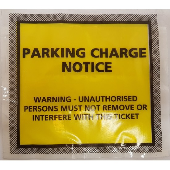 Parking Charge Notice Wallets  - Pack 50