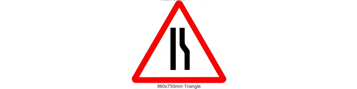 Road signs fixed