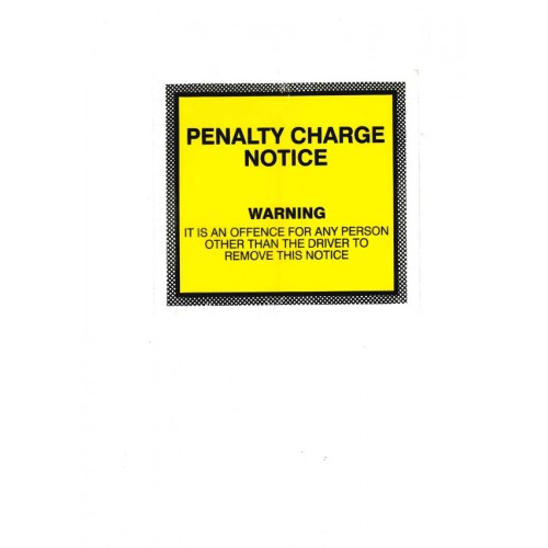 Penalty Charge Notice Wallets Box 1000