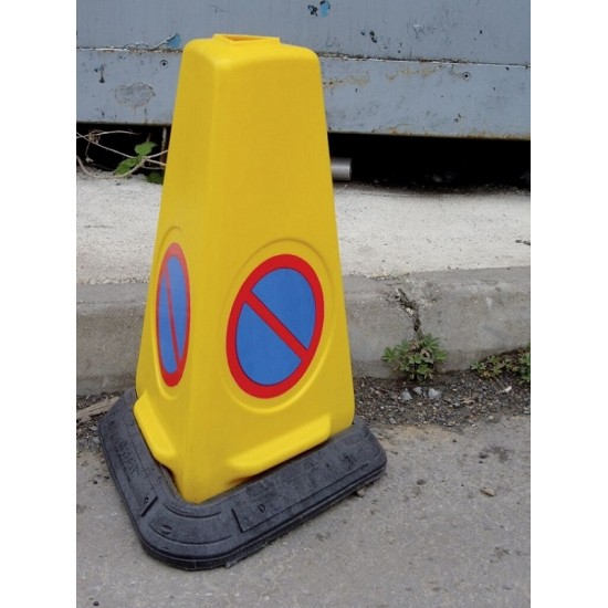 Traffic Road Cone - Three sided No Waiting Pack of 200