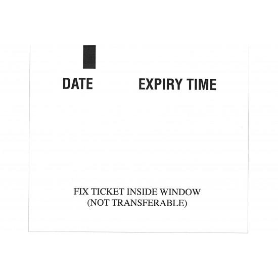 Parkeon Stelio Strada Single Issue Tickets Non - Adhesive