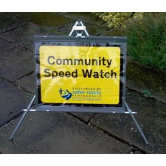 Speedwatch sign - rectangular
