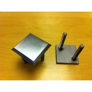 Demarcation Stud - stainless steel - square 50mm