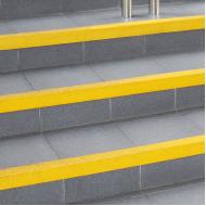 Coba - COBAGRiP Stair Nosing - Safety Surface - Anti Slip - Yellow