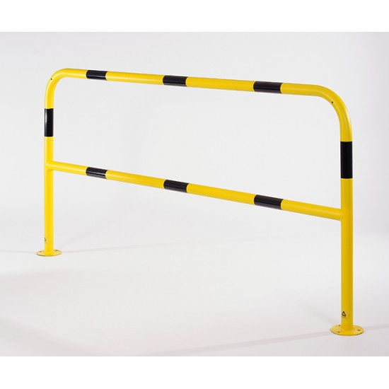 Perimeter Protection Barrier Black and Yellow 1000mm