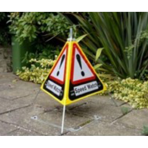 Speedwatch Sign 3 Sided