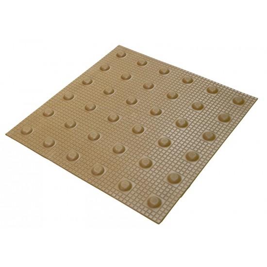 Tactile blister paving tiles - 400mm x 400mm Tac Tiles