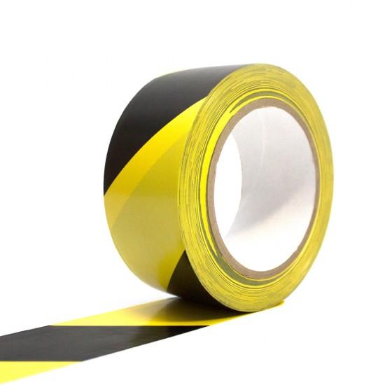 Line marking hazard warning floor tape 50mm wide x 33m per roll